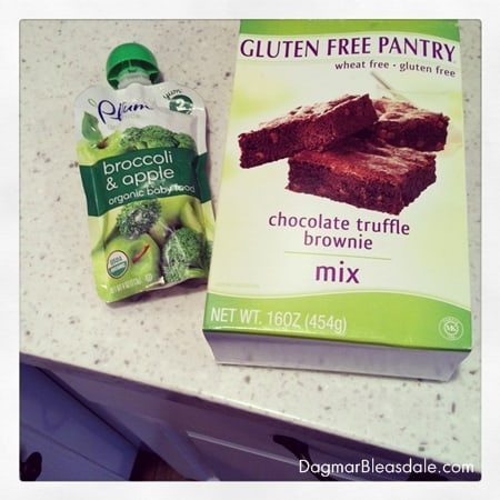 gluten-free brownies with chia seeds, recipe
