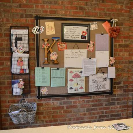 work-life balance tips, DIY family command center