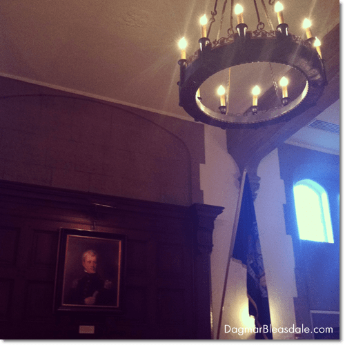 historic Thayer Hotel at W