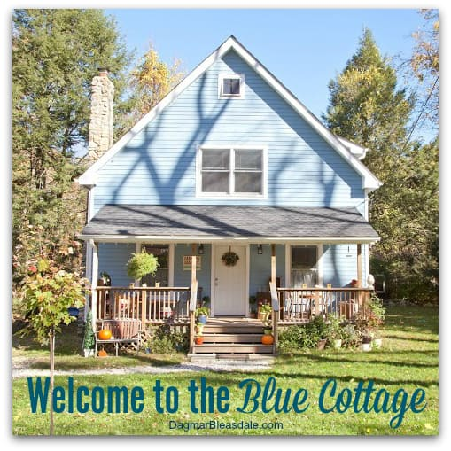 Blue Cottage Welcome