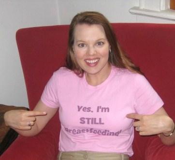 I'm still breastfeeding T-shirt 2