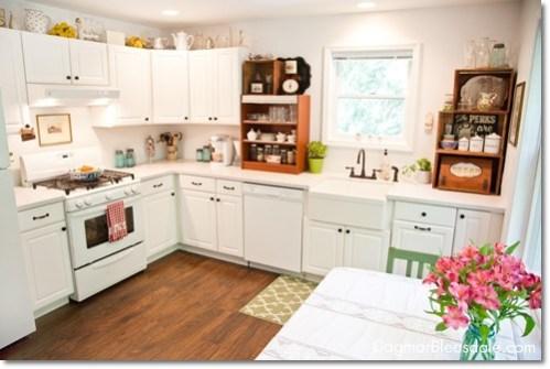 DagmarBleasdale.com, white farmhouse kitchen
