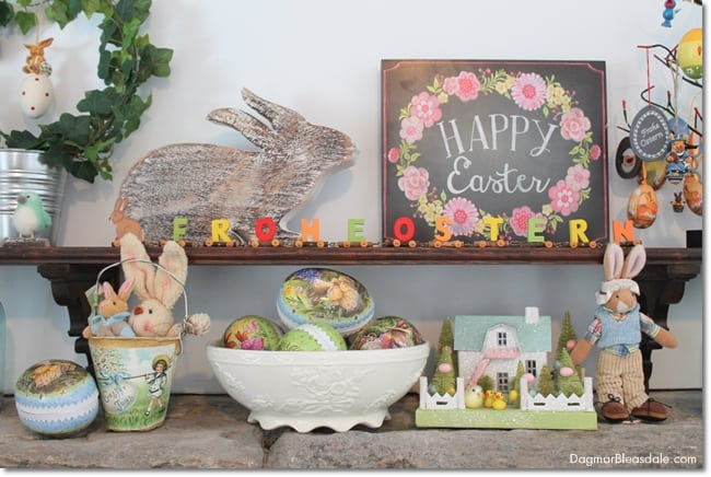 Easy Easter Tablescape, DagmarBleasdale.com