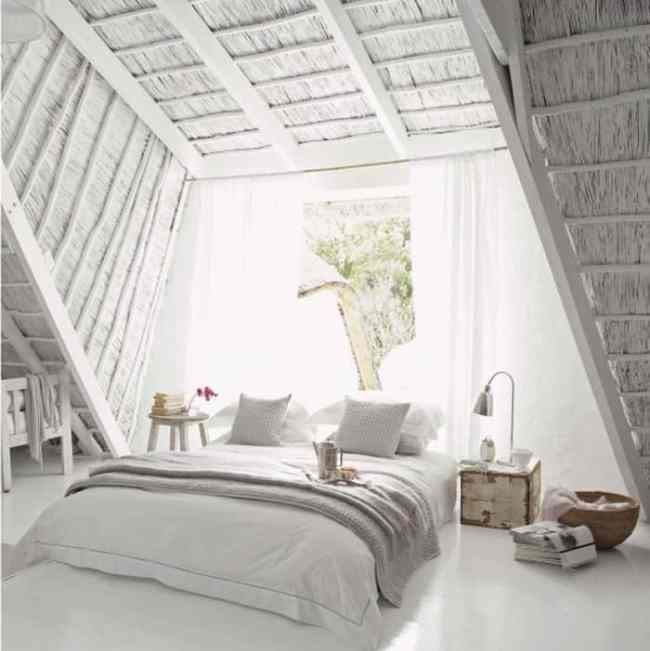 cottage attic bedrooms. DagmarBleasdale.com
