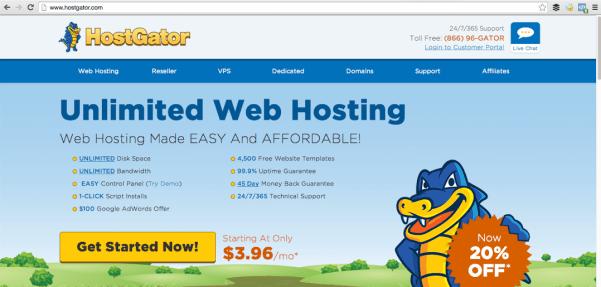 starting a blog with HostGator, DagmarBleasdale.com