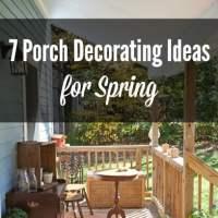 Porch Decorating Ideas for Spring. DagmarBleasdale.com
