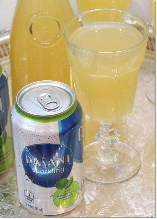 pineapple radler spritzer drink, DagmarBleasdale.com