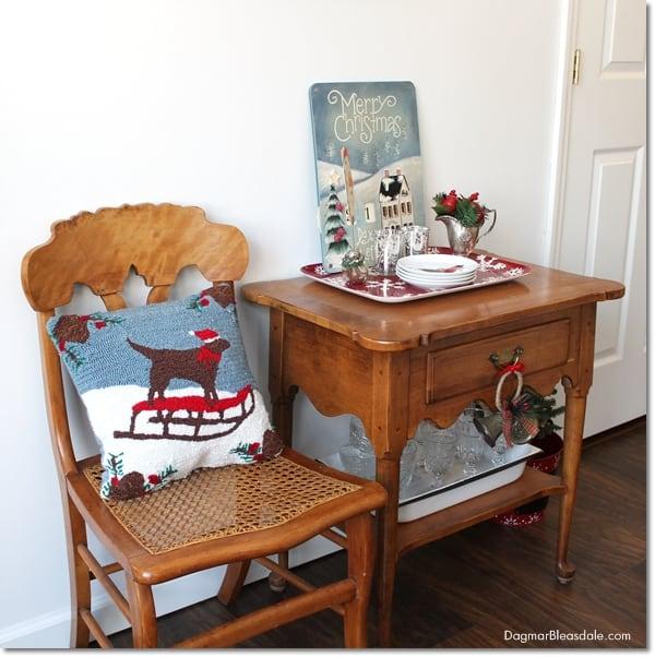 Cottage Christmas Home Tour, DagmarBleasdale.com