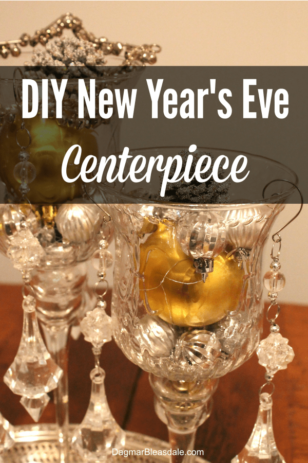 New Year's Eve centerpiece 600