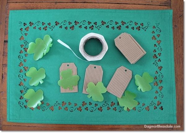 DIY St. Patrick's Day banner, DagmarBleasdale.com