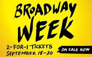 Broadway-Week-Discount-Tickets