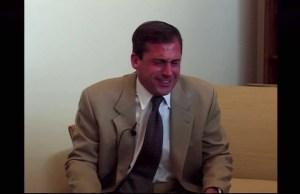 Steve Carell's 'Anchorman' Audition