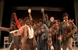 Clips from the new Broadway musical, 'The Scottsboro Boys'