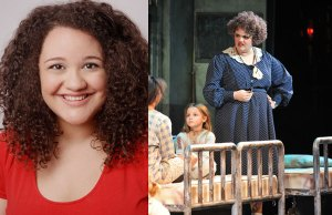 Lynn Andrews Miss Hannigan in Annie