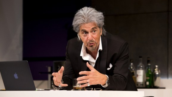 """Al Pacino in a scene from """"China Doll"""" on Broadway at the Schoenfeld Theatre. Photo by Jeremy Daniel."""
