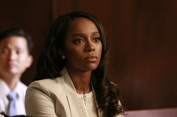 Aja Naomi King in 'How To Get Away With Murder'