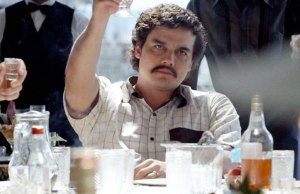 Actor Wagner Moura as Pablo Esobar in 'Narcos'