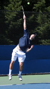 The Cal men's tennis team advanced to the NCAA round of 16 for the first time since 2003.