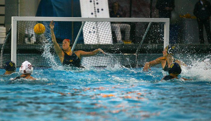 Junior goalie Stephanie Peckham was named the MPSF Tournament MVP after racking up 26 saves over three games.