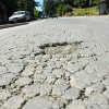 Gayley Street's potholes are a result of Berkeley's deteriorating pavement. The city's pavement condition was given a score of 60 out of a possible 100 points in a report by the Metropolitan Transportation Commission.