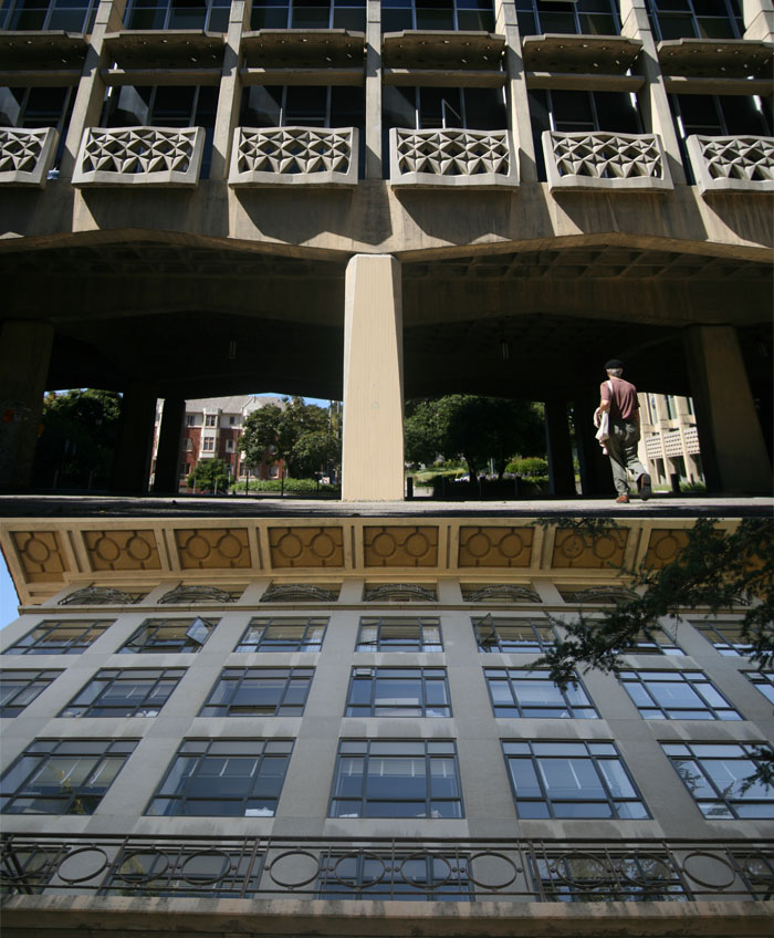 Tolman (above) and Campbell Halls are among the buildings on UC Berkeley's campus that require retrofitting.