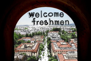Welcome Freshman Look Inside
