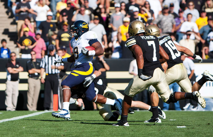 Football vs Colorado State University 9/10/11