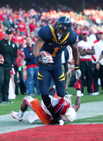 Wide receiver Marvin Jones has caught 10 passes for 173 yards in Cal's first two games of the 2011 season. The senior also has two touchdowns grabs.
