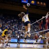 Middle hitter Shannon Hawari hit an even .500 against Arizona on Friday with 13 kills.