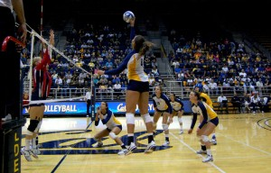 Women's Volleyball vs. Arizona 9/30/11