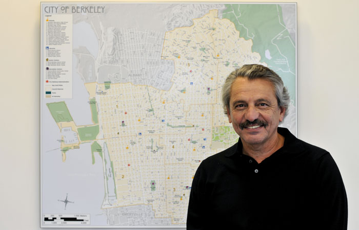 Berkeley City Manger Phil Kamlarz announced Sept. 26 his plans to retire this year.