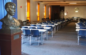The library on the seventh floor of Eshleman Hall is being turned into commercial space.