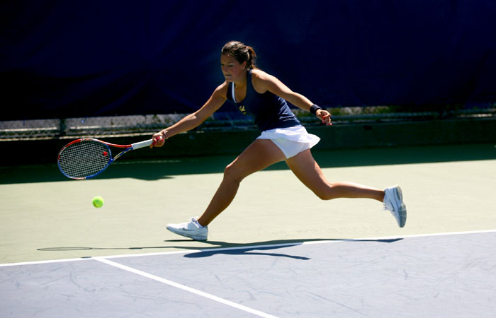 Sophomore Alice Duranteau captured the second-tier singles title this weekend.