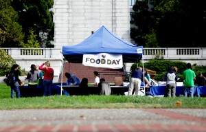 Food Day, a national event promoting healthy, sustainable food, was also celebrated on the UC Berkeley campus.