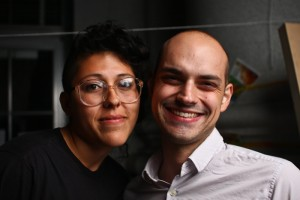 Zachary Manfredi and Andrea Barrera. David Herschorn/Staff
