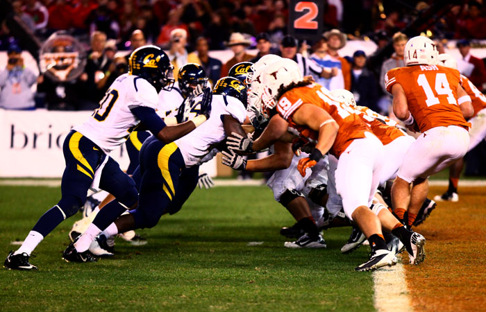 The Cal football team will battle Stanford in October during the 2012 campaign.