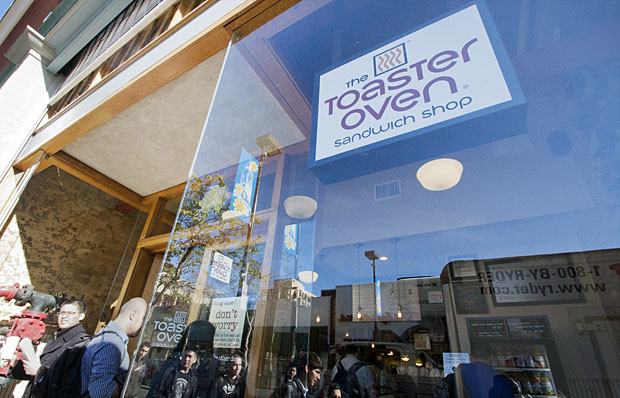 The Toaster Oven is a new sandwich shop that just opened on Telegraph Avenue.