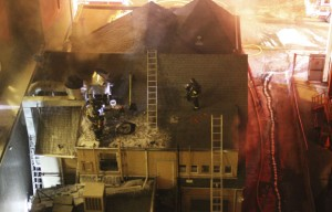 Kitchen fire causes $700,000 worth of damage.