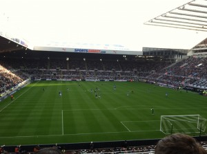 Newcastle United versus Wigan Athletic F.C.