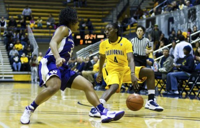 Eliza Pierre had three points and three rebounds in the Bears' win over Arizona State.
