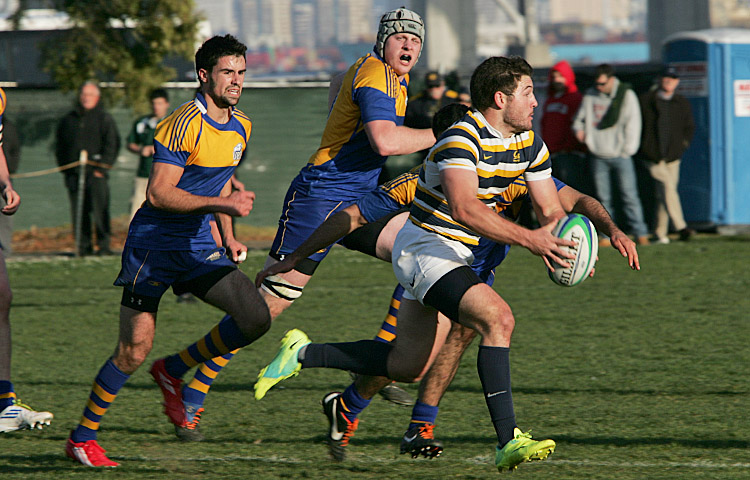 The Cal rugby team will play its final 15-player match of the season against St. Mary's on Sunday.
