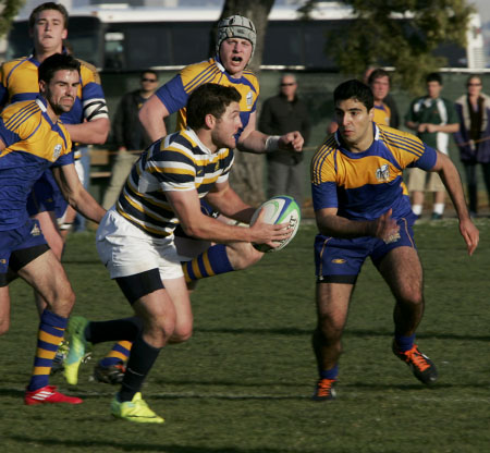 Cal Men's Rugby vs UBC