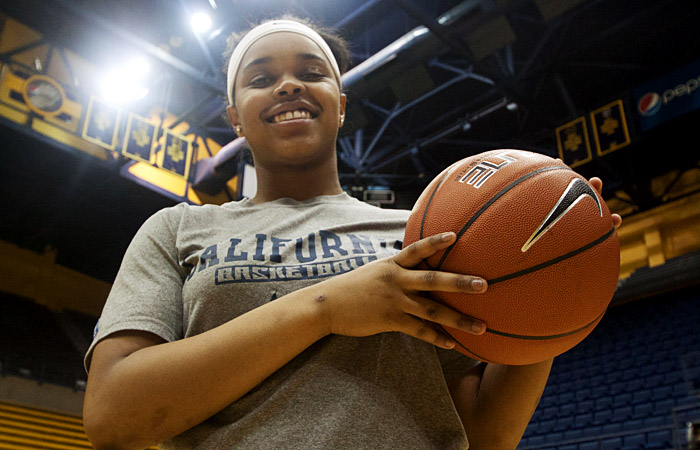 Brittany Boyd has become the leader of the Bears as a freshman. The point guard from Berkeley High School has helped Cal reach the NCAA Tournament for the first time since 2009.