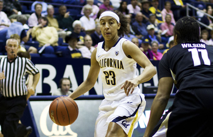 Junior guard Layshia Clarendon led Cal with 16 points on Sunday. The Bears will face No. 1 seed Notre Dame in the second round of the NCAA Tournament on Tuesday.