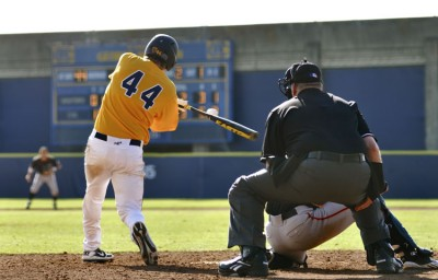 Junior third baseman Mitch Delfino went 2-for-4 with a double, three RBIs and a run in the Tuesday win over Fresno State.
