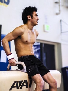 Cal senior Glen Ishino is hoping to qualify for the Olympics this summer.