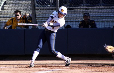 Center fielder Frani Echavarria was perfect on her three at-bats, finishing the game with two doubles and a home run.