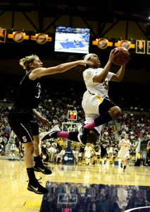 Brittany Boyd and the Cal womens basketball team nearly upset Stanford at Maples Pavilion on Jan. 28.