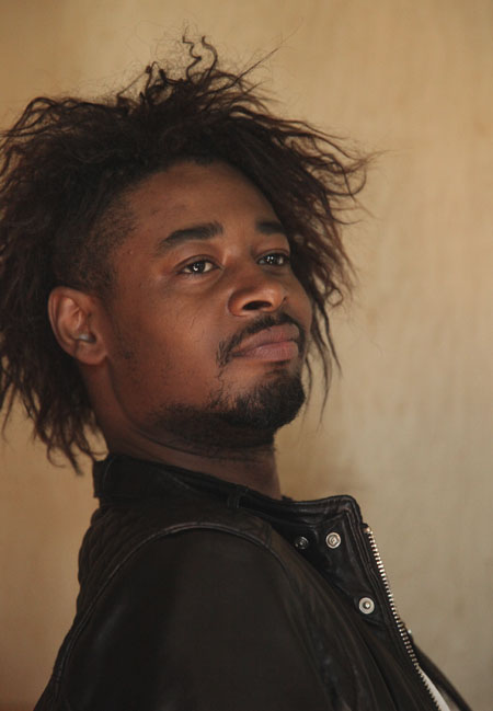 Danny Brown, a Detroit rapper, performed on Lower Sproul last week.