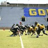 The Cal football team split into two sides for a spring scrimmage Saturday at Edwards Stadium. Andrew Kuo/Staff